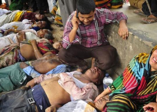 Бангладеш стампедо