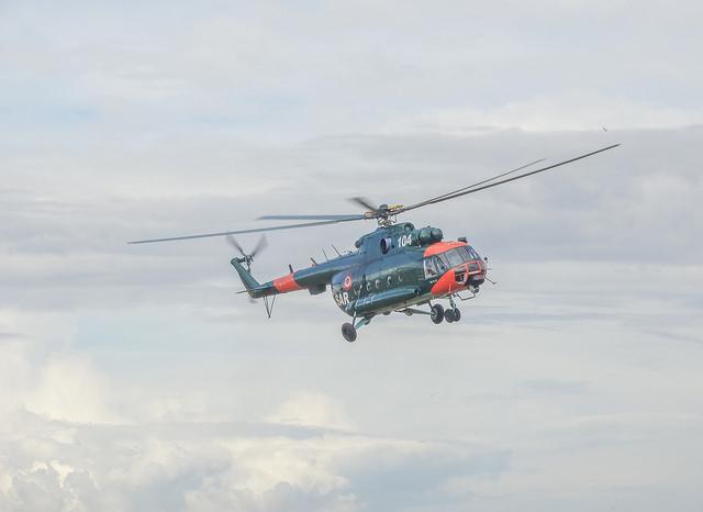 Хеликоптер Мил Ми-8