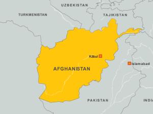 авганистан мапа
