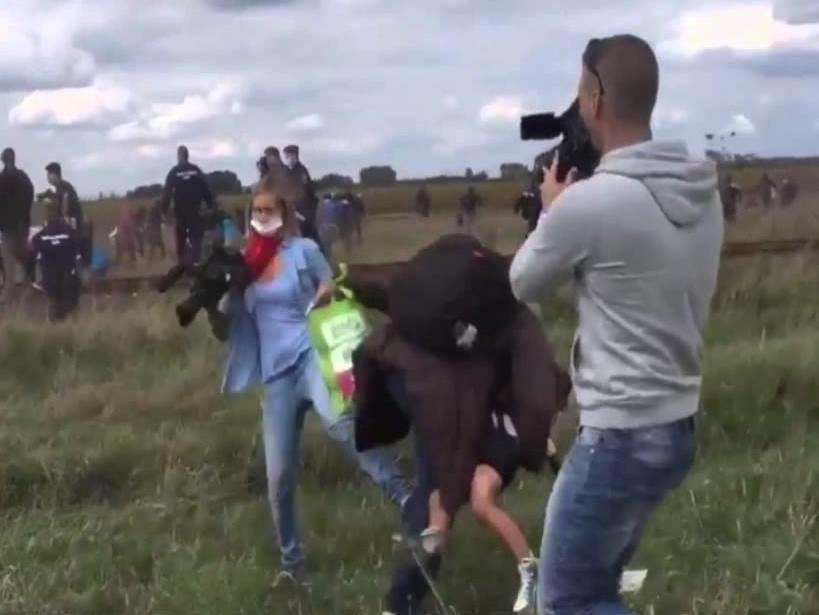 унгарска нимателка тепа мигранти бегалци