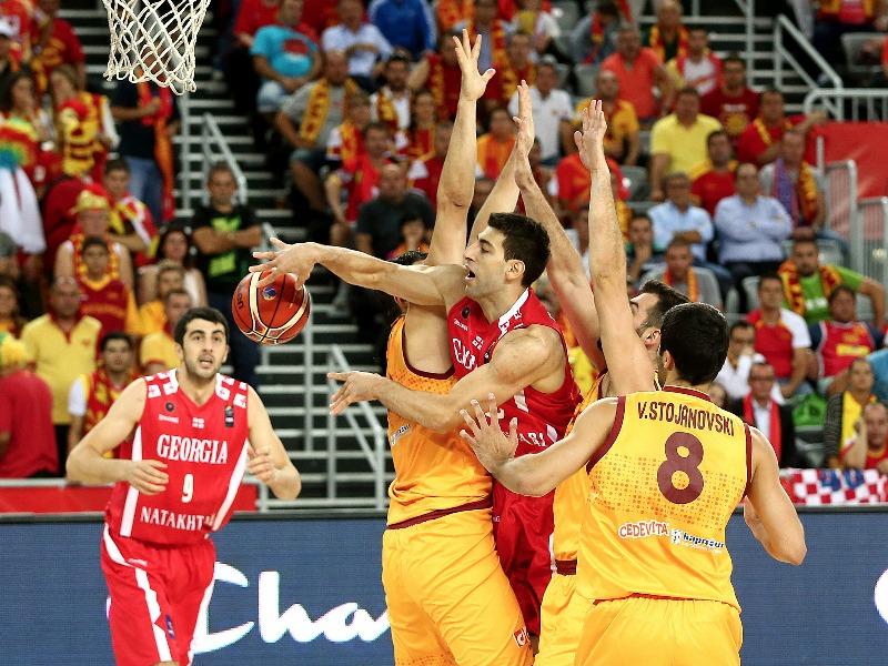 makedonija - gruzija evrobasket 2015