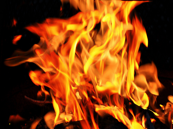 pozar пожар оганн огин