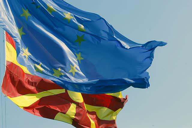 Македонија Еу знамиња