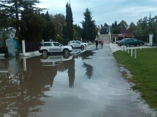 охрид поплава
