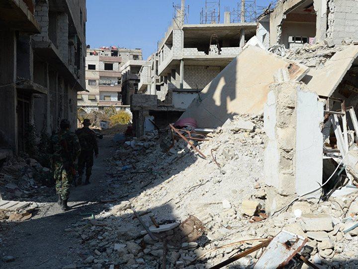 Сирија урнатини