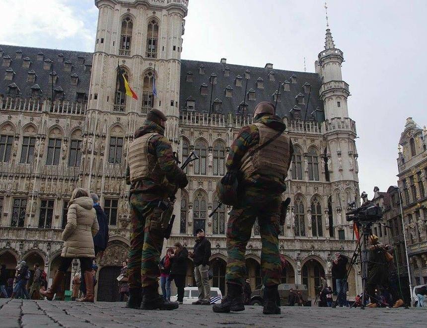 Зголемено полициско обезбедување во Брисел