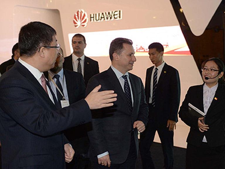 Gruevski, Huawei