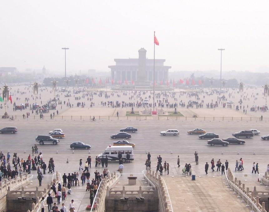 Peking smog