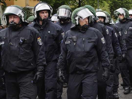 germanska policija