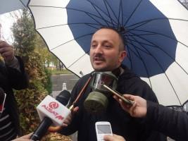 """Игор Новески од граѓанската иницијатива """"Стоп за смрдеата во Аеродром и Ново Лисиче"""