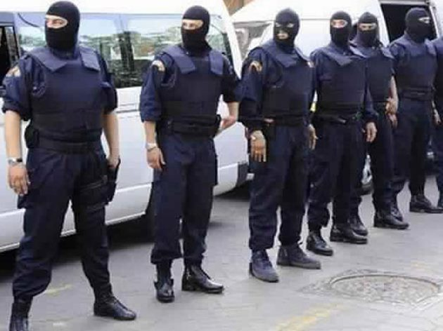 maroko policija