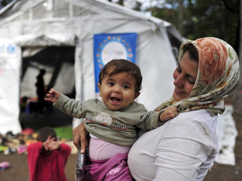 уницеф деца бегалци