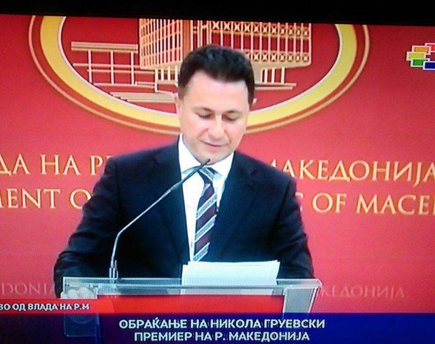 Nikola Gruevski ostavka