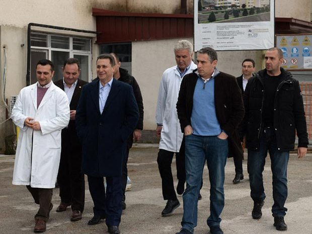 Nikola Gruevski vo Ohrid