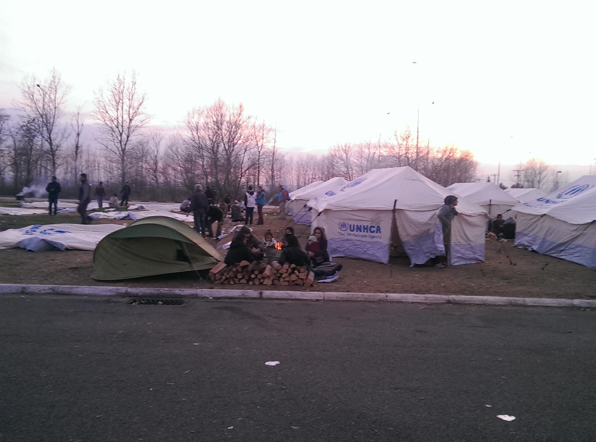 грција камп