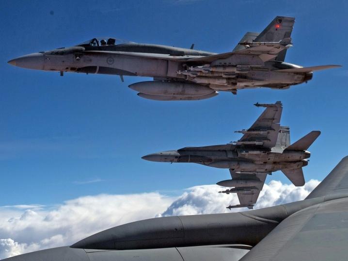 kanadski borbeni avioni