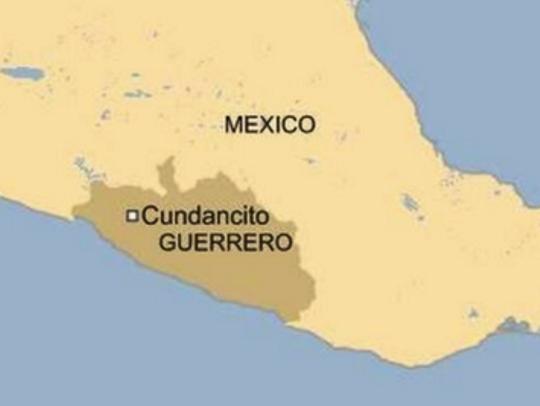 meksiko mapa