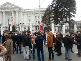 protest Turci, Vlada