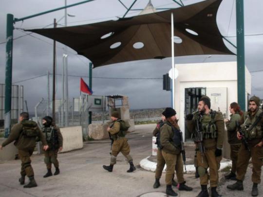 израелска војска Рамала блокада