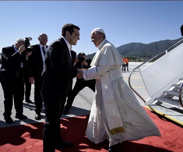 Papa i Aleksis Cipras