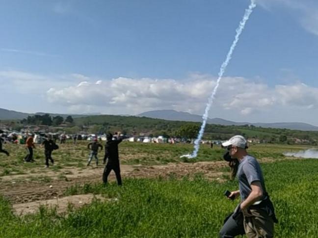 Инцидент Идомени, incident idomeni