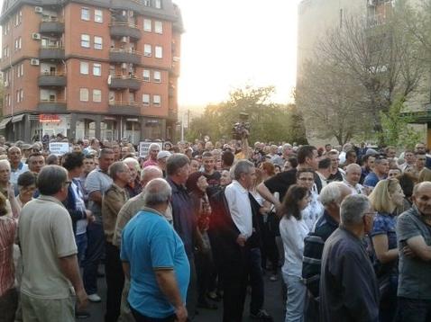 demonstranti veles