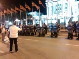 demostranti vlada