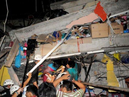 ekvador zemjotres