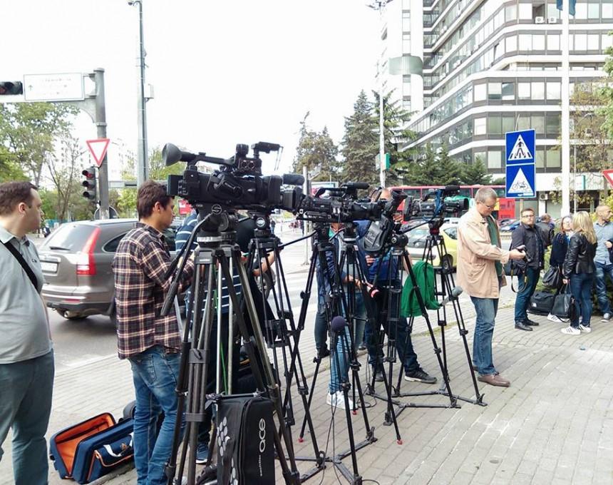 kameri, novinari