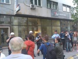 protest pred kancelarija na ivanov, протест пред канцеларија на иванов