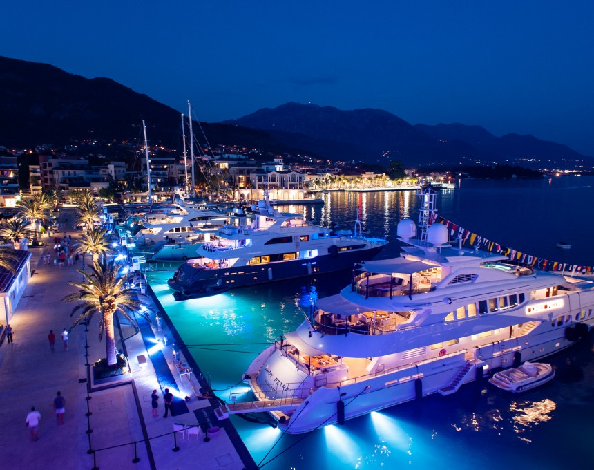 Super-Yachts-Night-Porto-Montenegro-July-2015