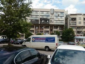 The building where Kosta Krpač was found dead, a witness for the SPO