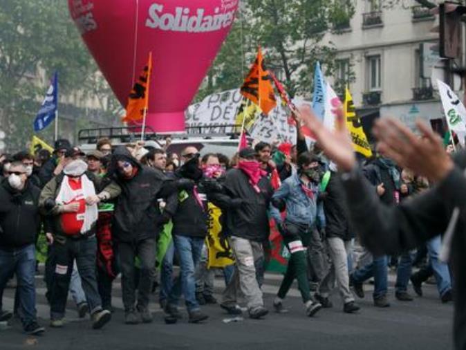 strajk Francija