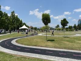 Promocija na velo-poligon vo Park Makedonija (2)