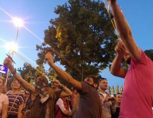 slingshots protests