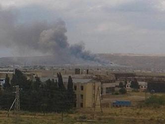 azerbejdzan eksplozija fabrika oruzje