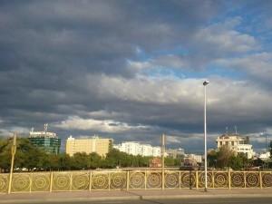 most majka tereza skopje oblaci oblacno vremenska progrnoza