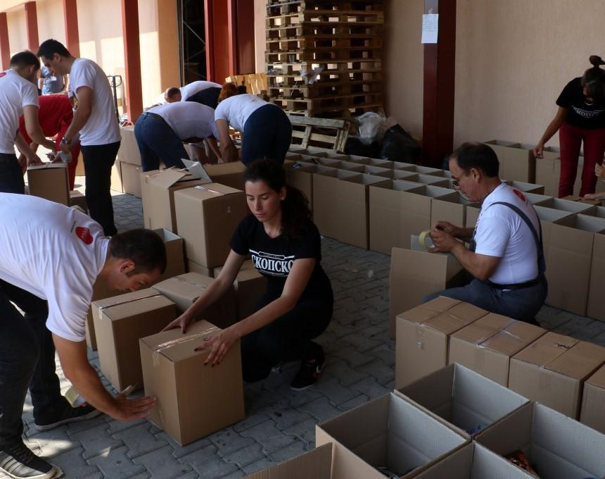 Volonteri na Pivara Skopje 2