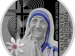 Majka Tereza, moneta