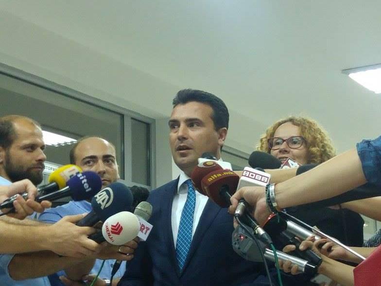 Zoran Zaev, liderska