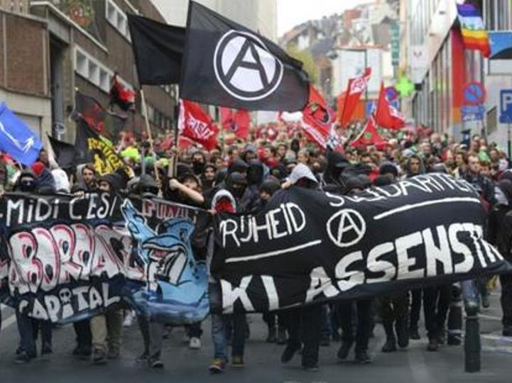protesti Belgija