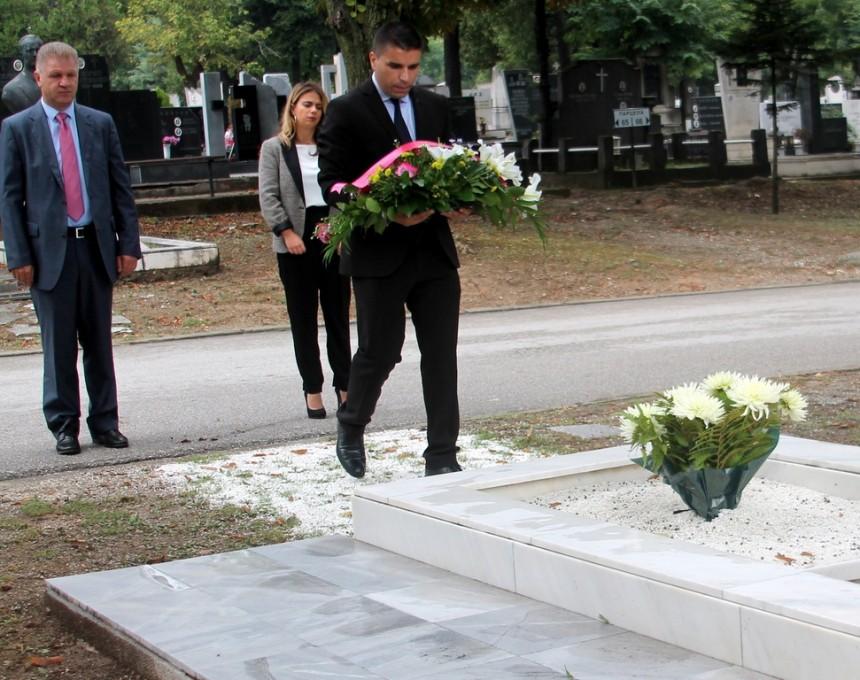 sdsm na grobot na Kiro Gligorov