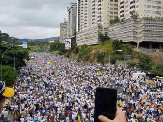 venecuela protest