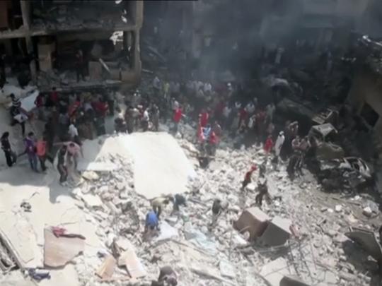 vozdusni napadi sirija
