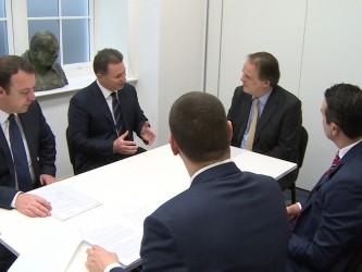 Gruevski poseta London