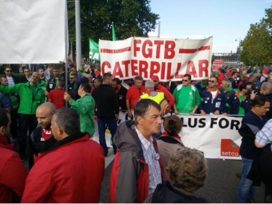belgija strajk