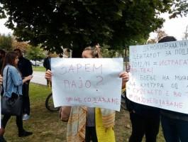 protest za Pavle Bogoevski (1)