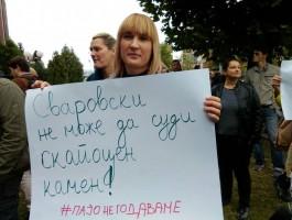 protest za Pavle Bogoevski (2)