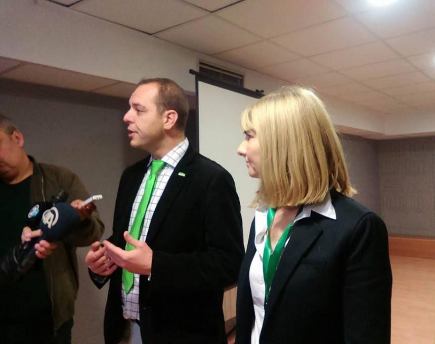 zeleni partii deklaracija