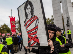 zena protest polska